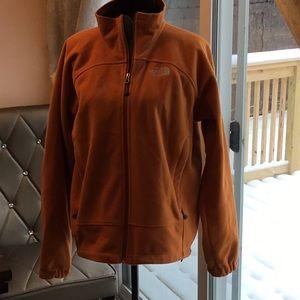 North Face Orange Jacket